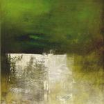 Greenfresh by Carole Kohler - Series Aluminiert - H140 * W120 * D4.5 cm - Mixed media on canvas